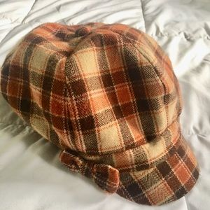 Accessories - Plaid Newsboy Cap